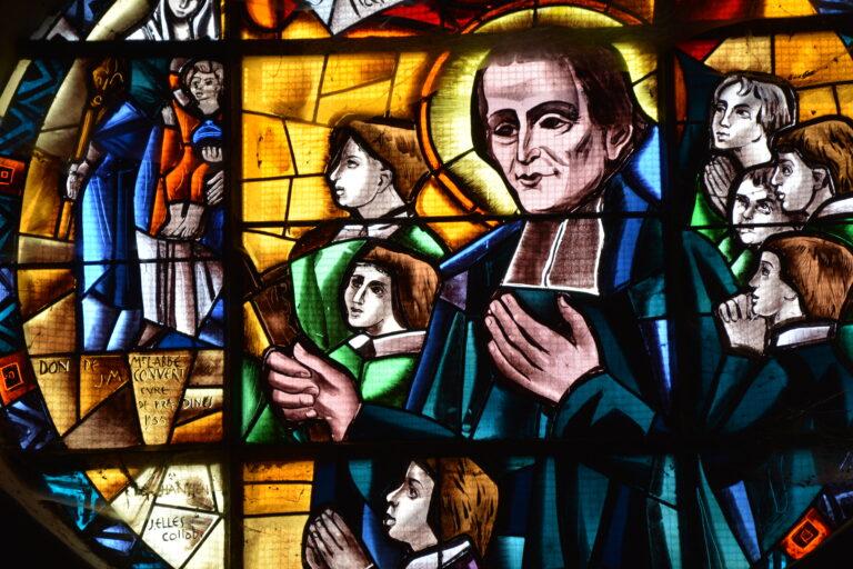 le Père Champagnat fondateurs des Maristes