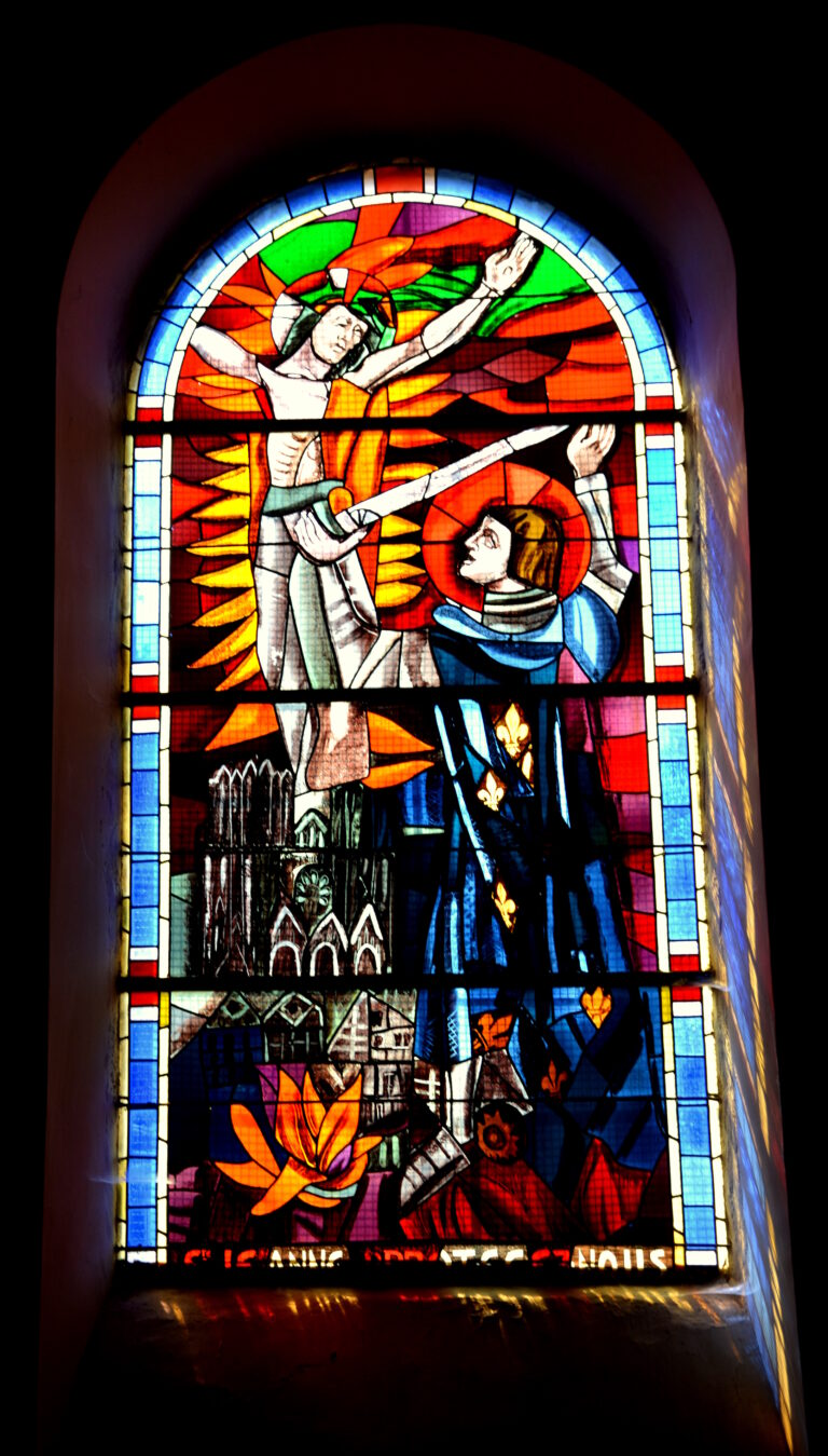 Saint Louis avec le Christ en croix