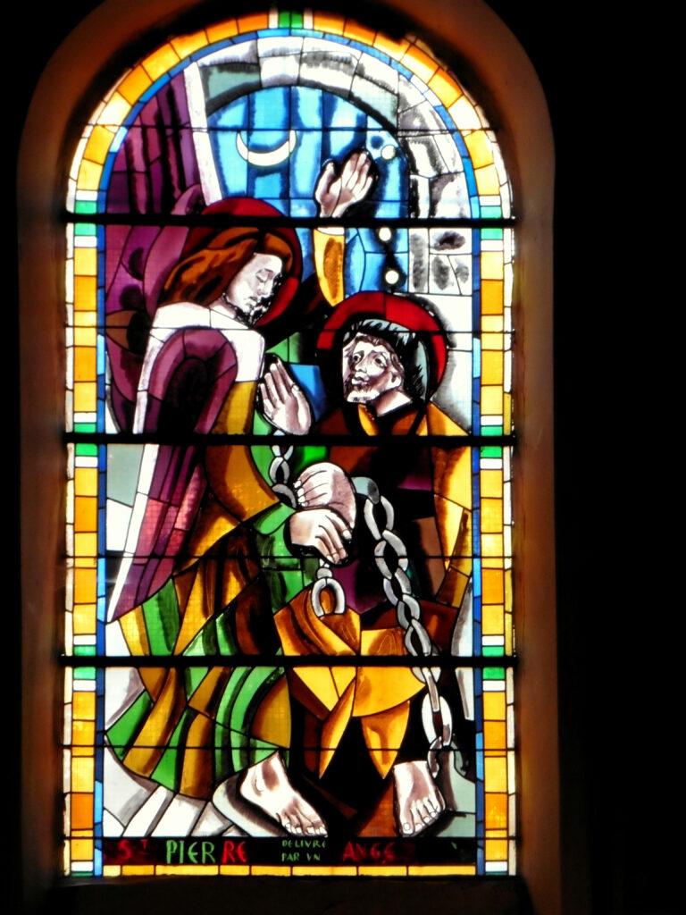 La délivrance de Saint Pierre, patron de l'église